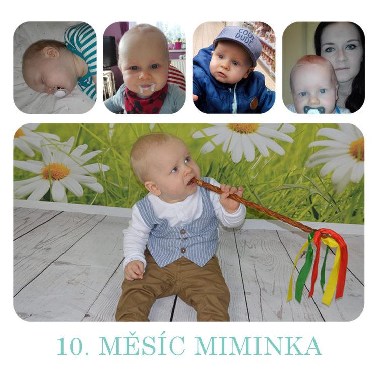 Deník miminka za 10. měsíc