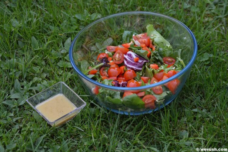 Hořčičná zálivka na salát