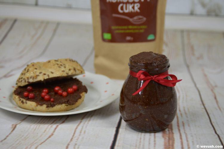 Domácí oříškovo-čokoládový krém á la nutella