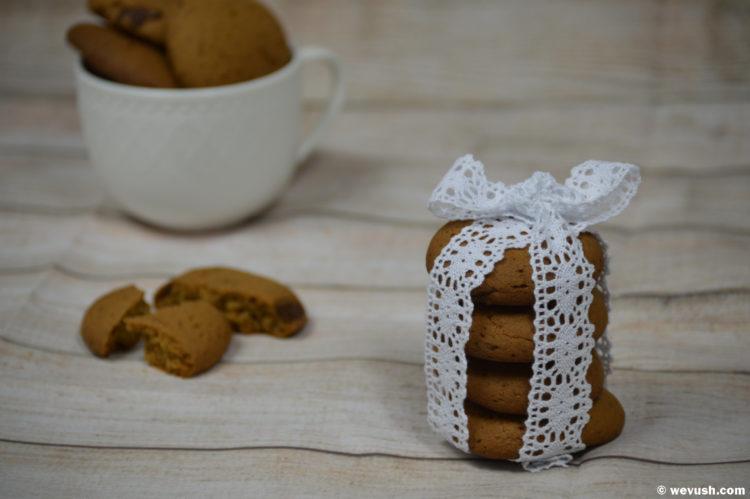 Téměř zdravé sušenky s kokosovým cukrem