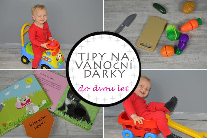 Tipy na vánoční dárky pro děti do dvou  let – hračky