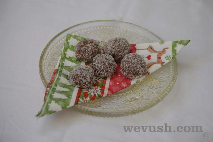 Vánoční cukroví: Rumové bomby