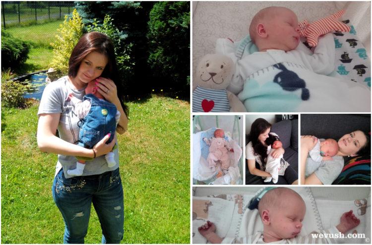1. měsíc miminka