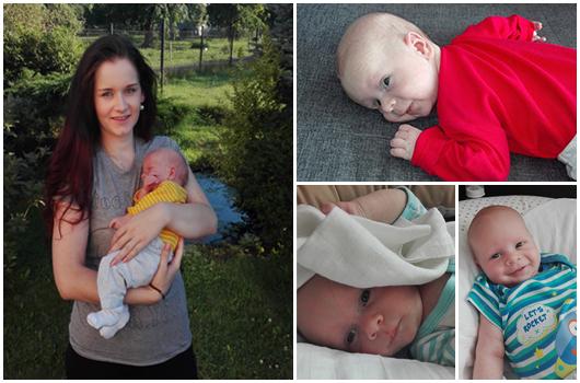 2. měsíc miminka