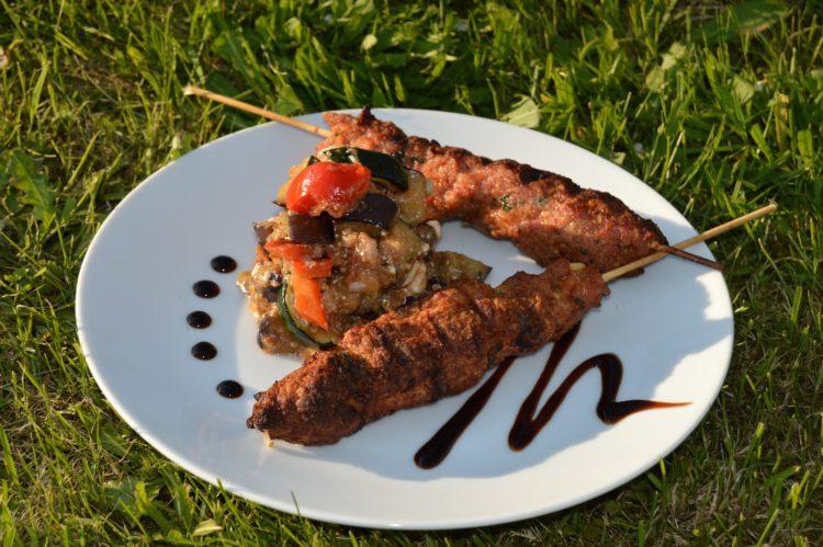 Výzva s Kalamáta Papadimitriou: Šašlík se salátkem z grilované zeleniny