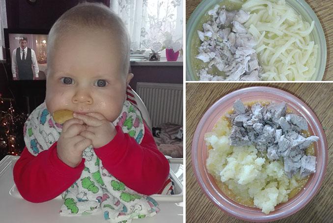 Maso-zeleninové příkrmy pro Alexe