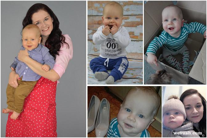 8. měsíc miminka