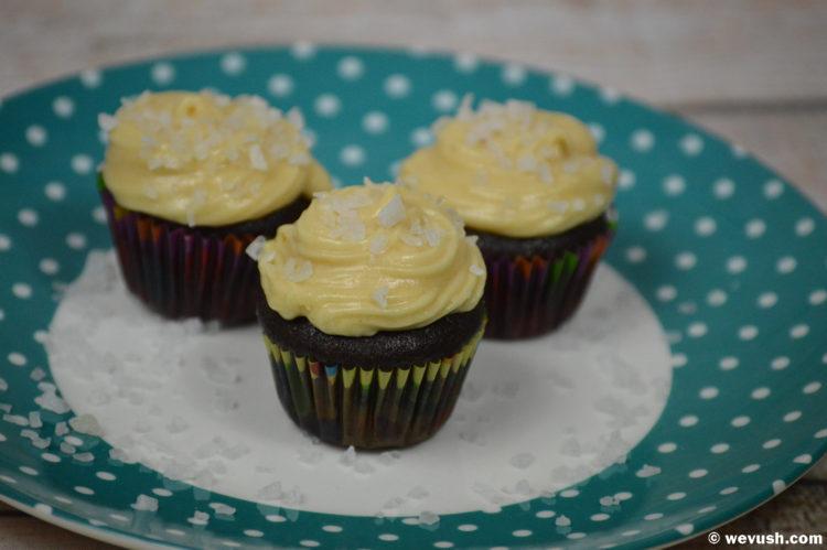 Cupcakes slaný karamel/cupcakes salt caramel
