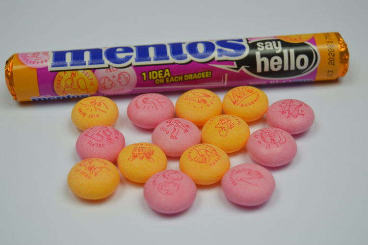 TIP: Mentos SAY HELLO !