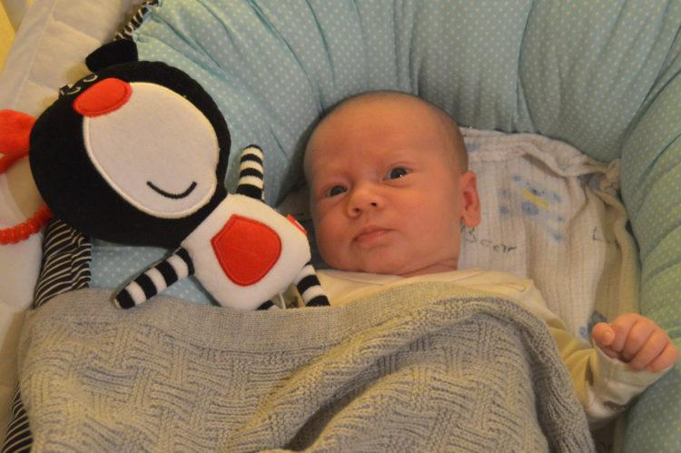 1. měsíc miminka – Erik
