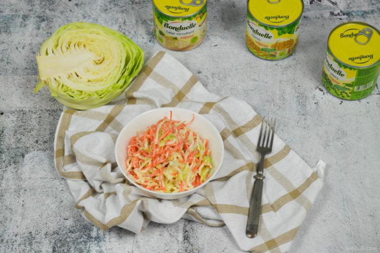 Variace na salát coleslaw