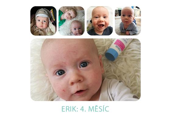 4. měsíc miminka: Erik