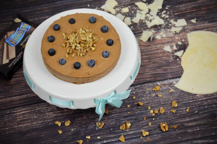 Čokoládový dort z lázeňských oplatek